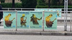 Freiburg stimmt ein 2016 - Plakatwand