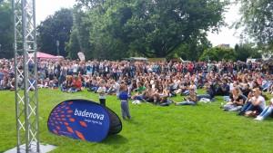 Freiburg stimmt ein 2016 - Der Stadtgarten - die Festivalzentrale